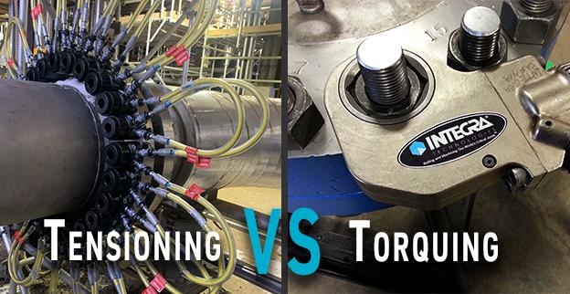 Hydraulic Bolt Tensioning versus Bolt Torquing